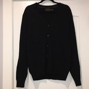 Black and Brown button down sweater